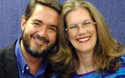 Scott Hahn and Kimberly Hahn Wide Pic