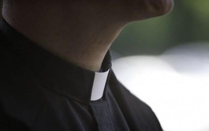 Catholic Priest Collar Wide Pic
