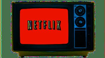 Retro Netflix Transparent Wide Pic