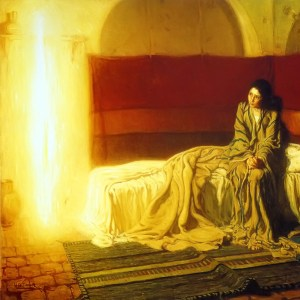 Henry Ossawa Tanner The Annunciation Full Square