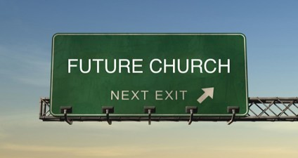 Future Church Street Green Highway Interstate Sign Wide Pic