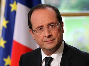 President Hollande of French Fifth Republic