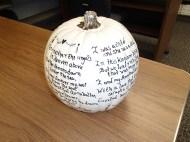 Annabel Lee pumpkin