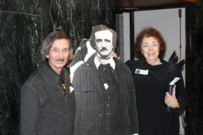 Joe Moore and Janet Toth with Poe
