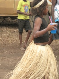Dancing girl at Laura