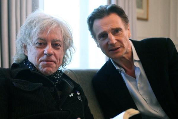 Bob Geldof & Liam Neeson