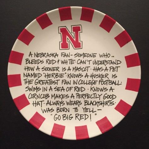 Sacred Husker Nacho Plate