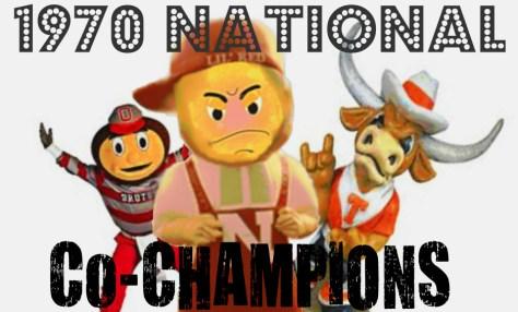 Nebraska 1970 National Co-Champs