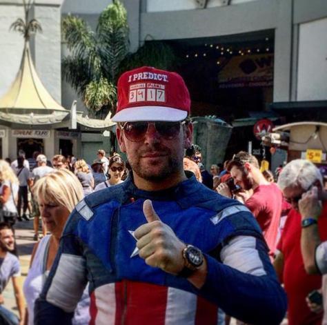 Hollywood Blvd Captain America