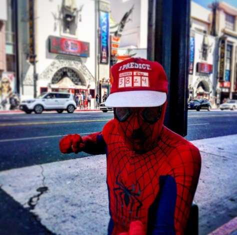 Spider-man Hollywood Blvd