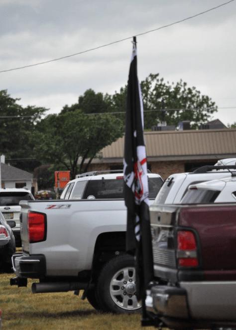 BLACKSHIRT FLAG