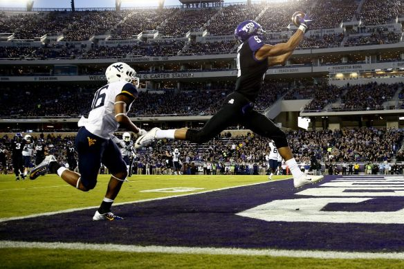 Question is: Will Doctson be here this long? He is flying up draft boards.