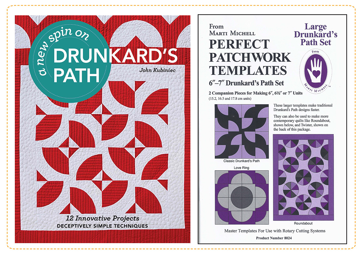 """A New Spin on Drunkard\'s Path"""" Blog Tour   McCall\'s Quilting Blog ..."""