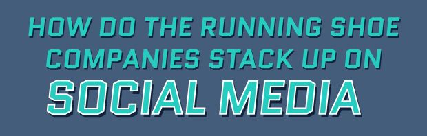How Running Companies Stack Up on Social Media