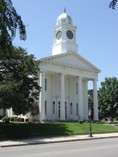 The Lafayette County Courthouse in Lexington, Missouri.