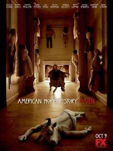 Just one of many creepy promo posters for American Horror Story: Coven.