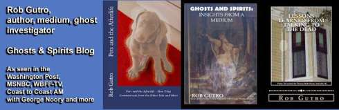 Author, medium, and scientist, Rob Gutro. Books. The Big Séance Podcast Interview.