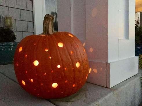 Halloween Polka Dot Disco Jack-O-Lantern 2014, Big Seance