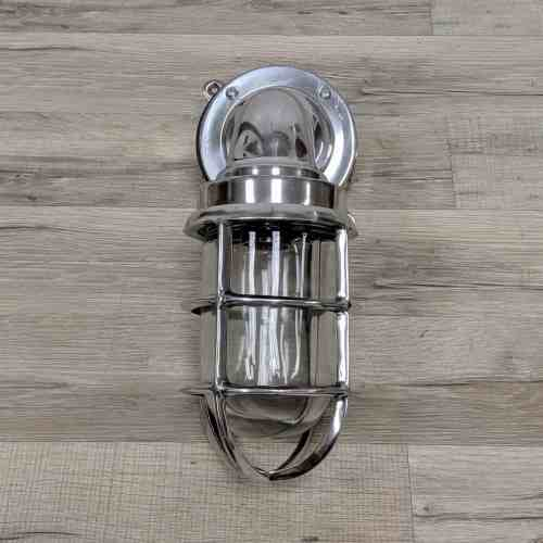 Polished Aluminum Bulkhead Light