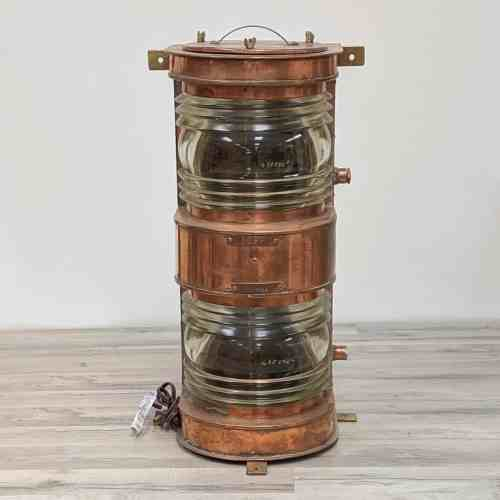 Brass Double Stack Navigation/Stern Light