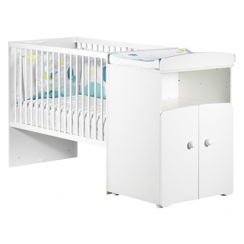 lit bebe combine evolutif 60x120 en 90x190 new basic baby price