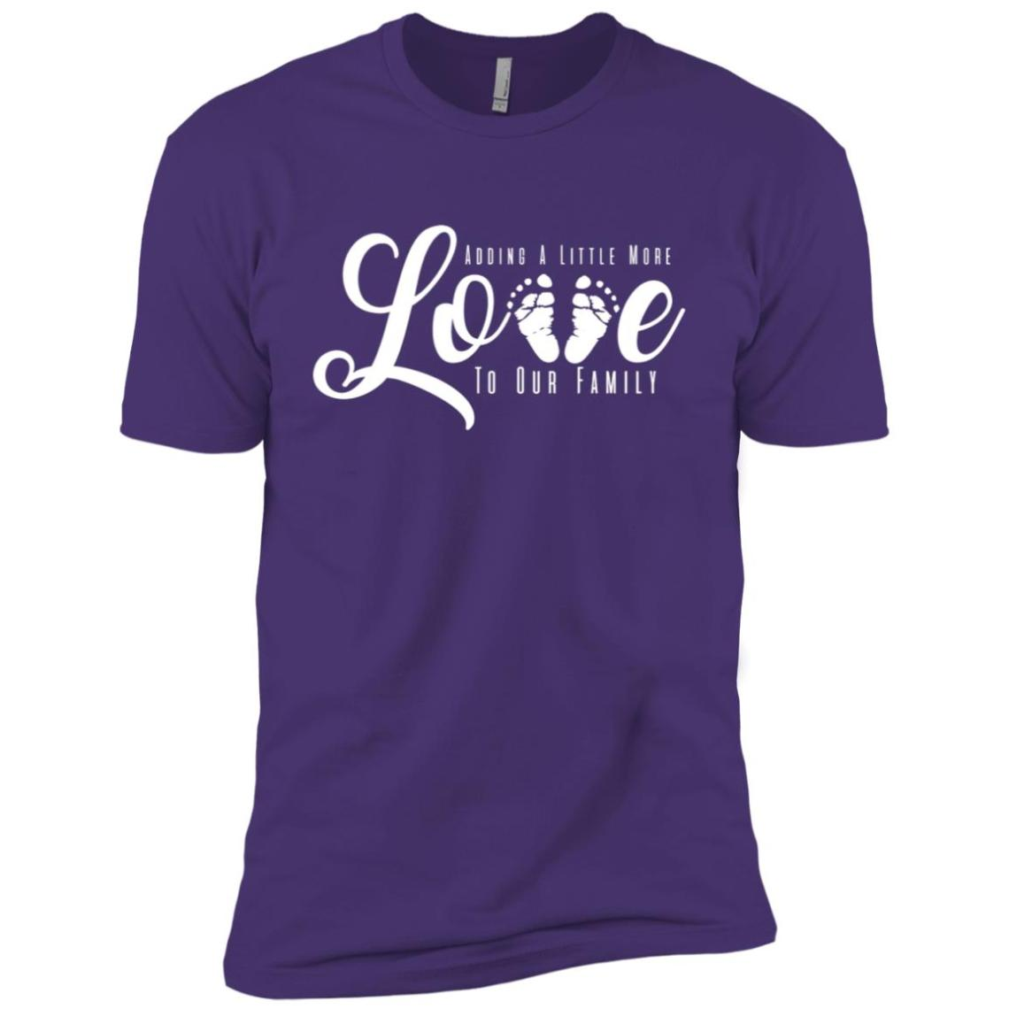 Download Adding A Little More Love to Our Family Men Short Sleeve T ...