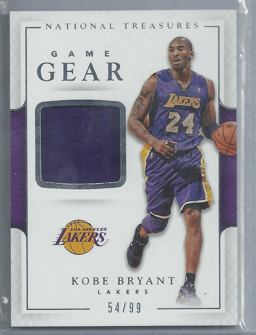 e86c25197af6 2016-17 National Treasures Game Gear- Kobe Bryant 54 99 – Buy and ...