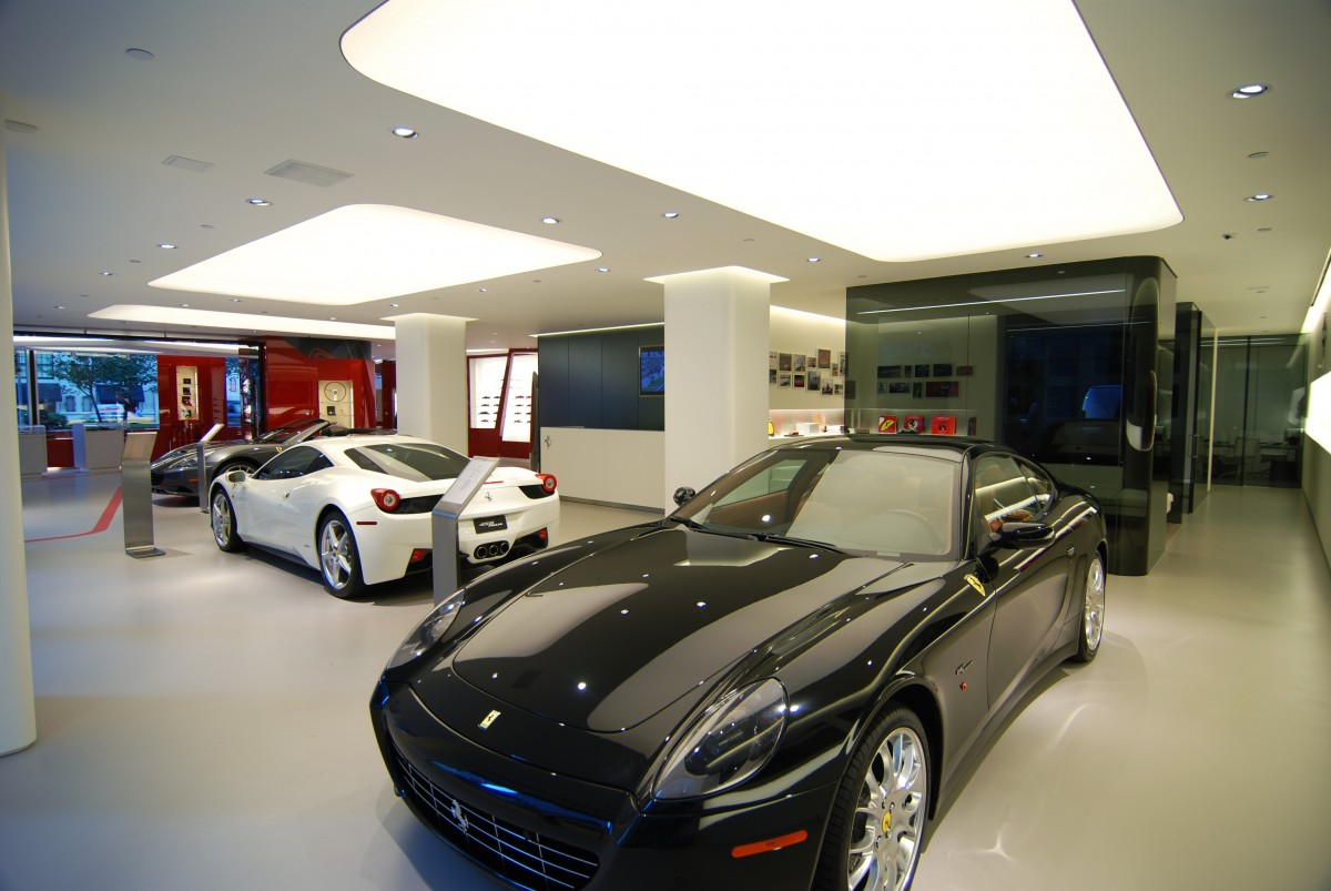 Ferrari Showroom Nyc Big Show Consulting And Management