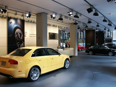 Audi Forum Park Avenue Showroom