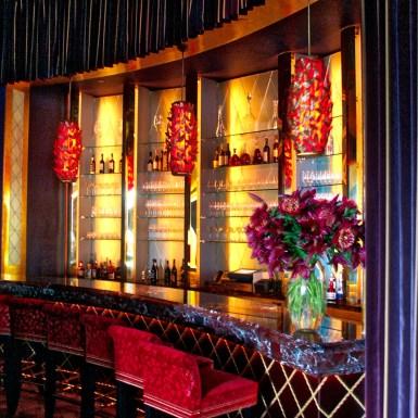 Jean George V bar area in Time Warner Center