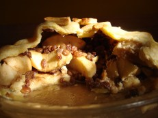 Apple Rum Raisin Pie https://bigsislittledish.wordpress.com/2011/01/10/apple-rum-raisin-pie-gluten-free-and-traditional/