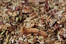 Maple Nut Granola https://bigsislittledish.com/2014/12/21/maple-nut-granola-for-snack-skeptics/