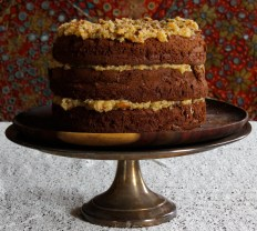 Grown Up Gluten-Free German Chocolate Cake https://bigsislittledish.wordpress.com/2015/03/20/grown-up-german-chocolate-cake-gluten-free-or-not/