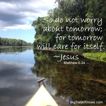 """Worry"" is not a word often spoken in a kayak."