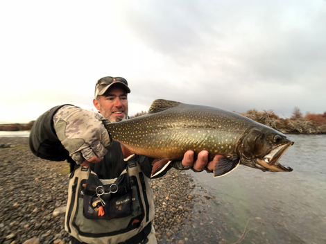 Fly Fishing for Trophy Brook Trout in Argentina
