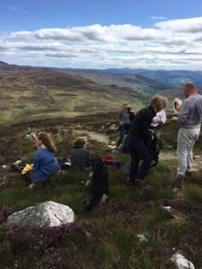 Hiking in the Scottish Highlands - Big Sky Campervan Rentals Scotland