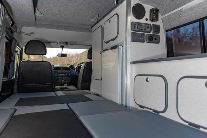 Land Rover Camping Bed