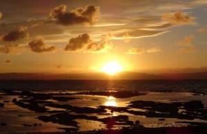 Sunset - West Coast Scotland campervan trip