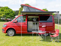 Campervans for hire in Scotland Rowan