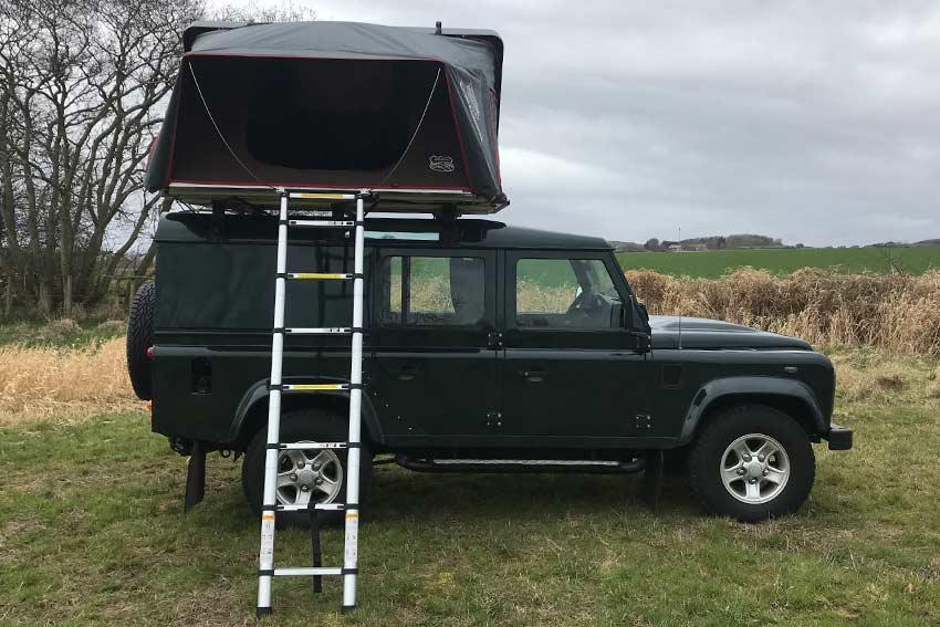 Hire a campervan in Scotland