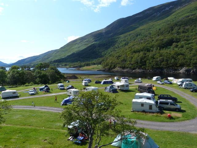 Caolasnacon Caravan Camping Park Pitchup Scotland