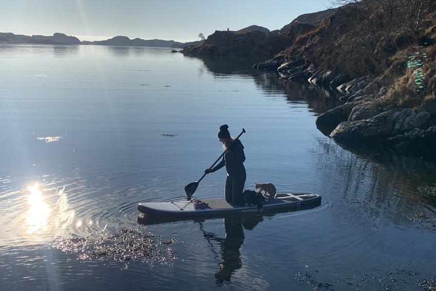 Scottish island hopping holidays canoe