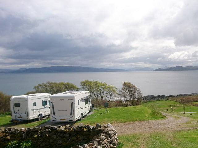 Ardnamurchan Campsite Scotland