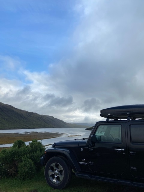 Jeep Camper rental Scotland