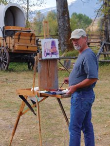 Montana Painters' Alliance founder Tom English