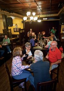 With live music playing most nights of the week, the Celtic Cowboy has become a gathering place for locals.