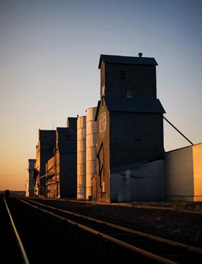 """Brady, Montana, home of Dusty's Bar, is a farming community set amongst the wheat fields of Montana's """"Golden Triangle"""" or North Central Montana."""
