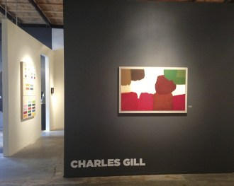 Tayloe Piggot Gallery launched the 2013 summer season with a strong abstract series of paintings from Idaho artist Charles Gill.