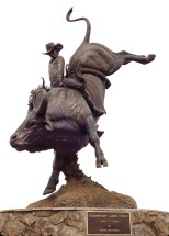 """Champion Lane Frost"" | Bronze | 15' x 11'"