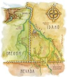 Map Illustration by Daphne Gillam
